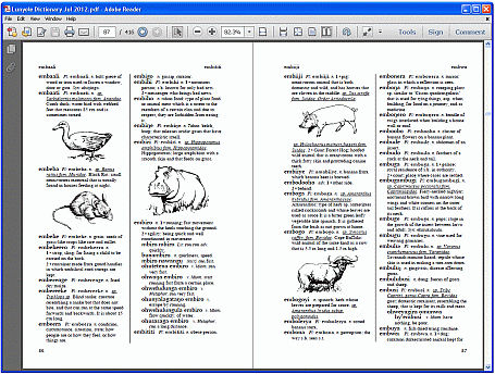 how to use pdf format